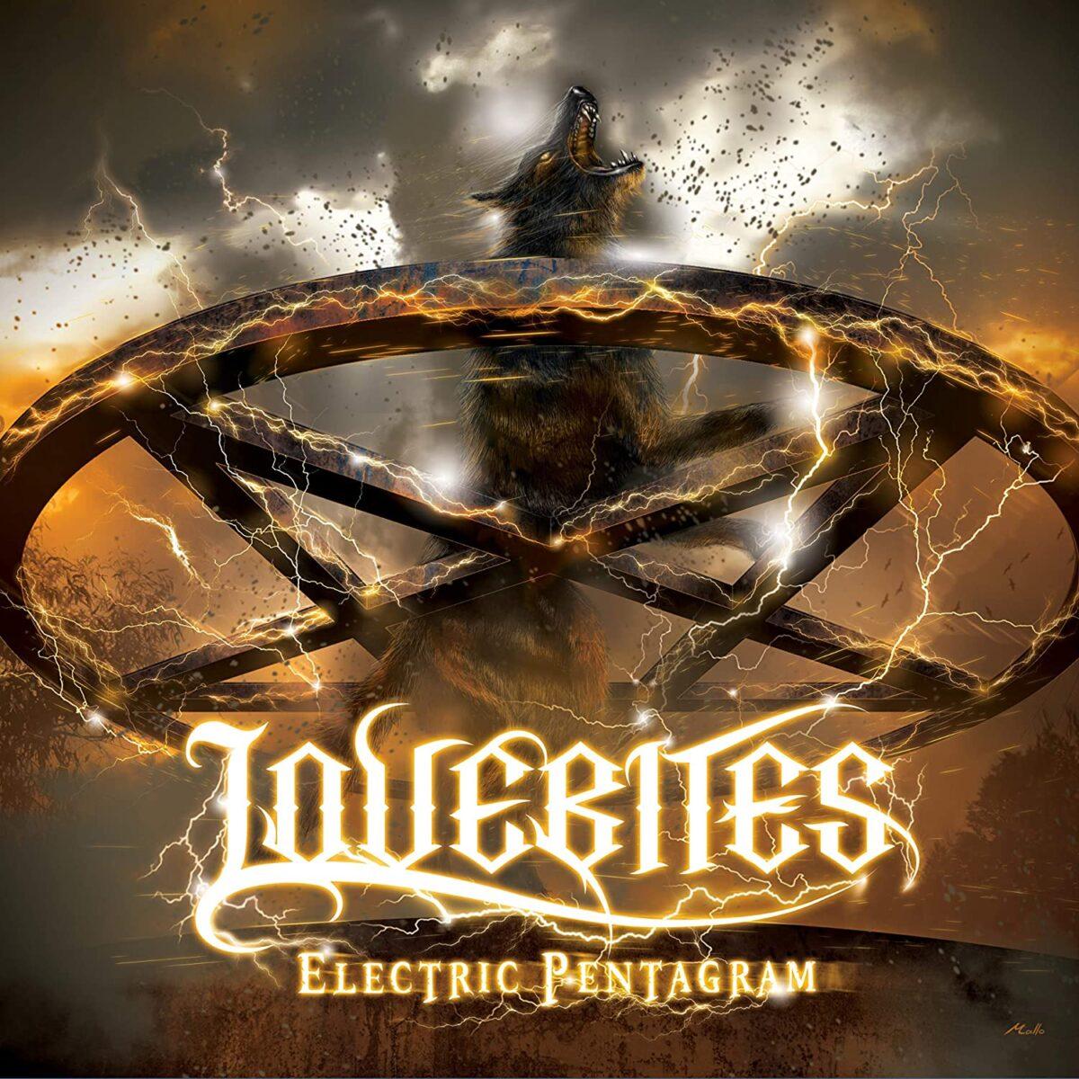 Lovebites Electric Pentagram CD Jacket