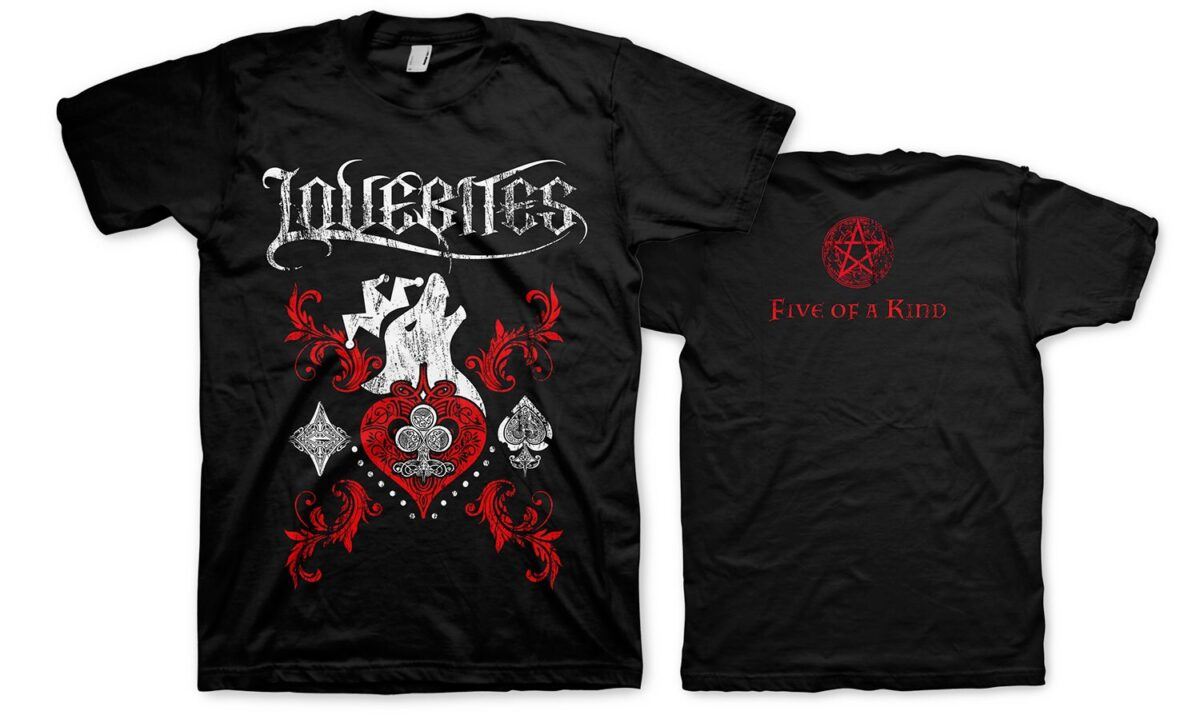 Lovebites - Five of a Kind T-Shirt