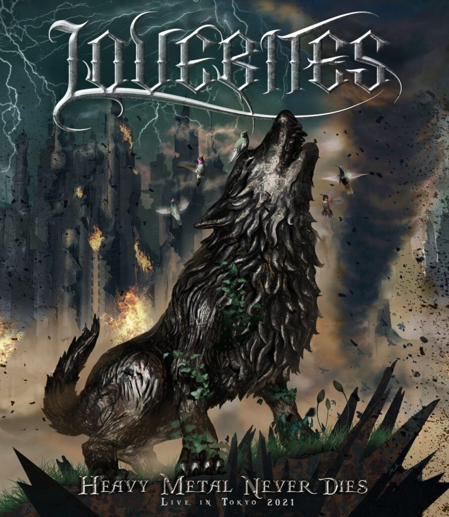 Lovebites - Heavy Metal Never Dies Artwork
